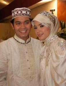 Pernikahan Indra Bekti dan Jelita pada 10-10-2010